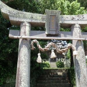 狛犬その584【浅谷七郎神社・松浦市】