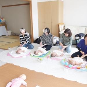 【募集開始】12月大倉山ベビーマッサージねんねクラス
