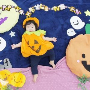 【本日募集開始】10月ハロウィン ねんねdアート(赤ちゃんアート)
