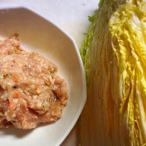 材料は2品の簡単レシピ「白菜とつくねのクッタリ煮」