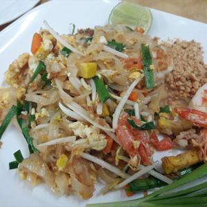 タイの麺対決、汁なし編
