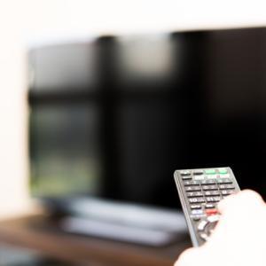 【暮らしの断捨離】テレビを観ない習慣をつける!