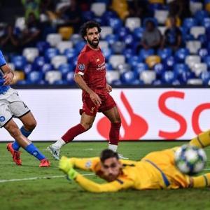 Napoli vs Liverpool(速報)