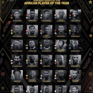 マネ&サラー&ケイタがアフリカ年間最優秀選手賞にノミネート