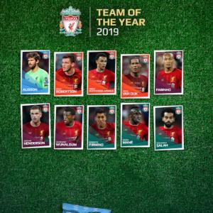 10選手がUEFAチーム・オブ・ザ・イヤー2019の候補に