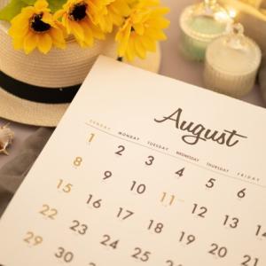 2021年8月のご予約可能日&イベントのご案内