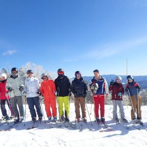 スキーキャンプ開始!