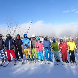第一回シニアスキーキャンプ