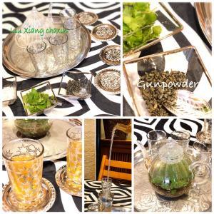 平水珠茶〜モロッコの香り〜