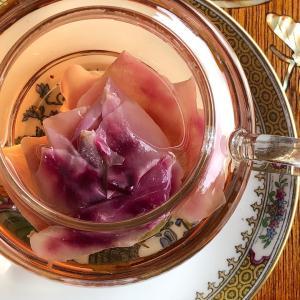女子力高め!墨紅玫瑰のお茶