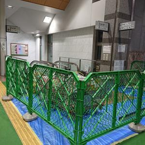月末まで軽井沢駅北口のエスカレーターが利用できません