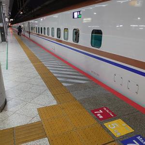 弁当屋さんも臨時休業する、東京駅新幹線ホーム