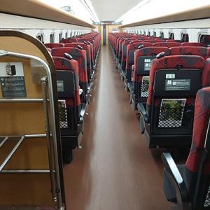 北陸新幹線、また少し空いてきましたか?