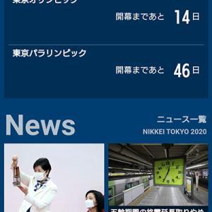 東京オリンピックまで、あと14日