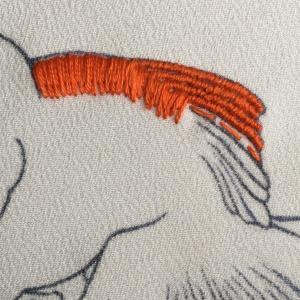 金魚刺繍②