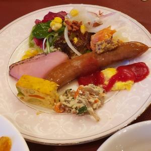 奈良ホテルで朝ご飯❗