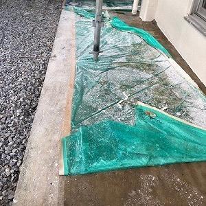 宜野湾市で塗装工事の社内検査