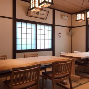 和室は テーブル+椅子 になりました。