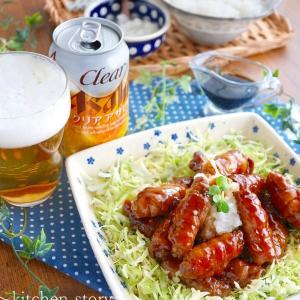簡単!豚肉ロールのぽん酢照り焼き~おろし和え&つゆだく❤ご飯にのっけ丼も楽しめる!