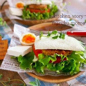 簡単!ランチパックを使って『ボリュミーで豪華なカフェサンド』が作れる♪&NiziU❤