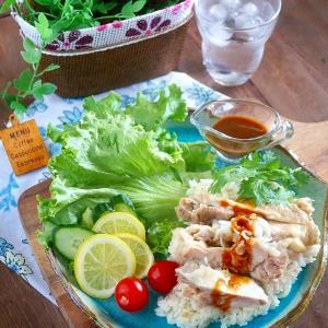 大満足!炊飯器1つで作れる『無印良品』の手づくりキット『カオマンガイ(タイの鶏飯)』を作ってみた♪&あの夏休み