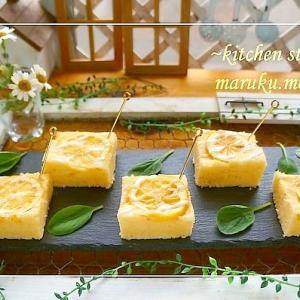 ホットケーキミックスで作る簡単「レモンケーキ」他、フーディストノートに掲載レシピ