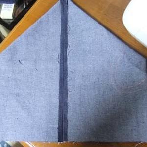 簡単な手提げ袋、詳細縫い方 画像つき。