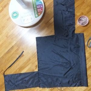レジ袋3枚目。縫い方覚えた改良編。