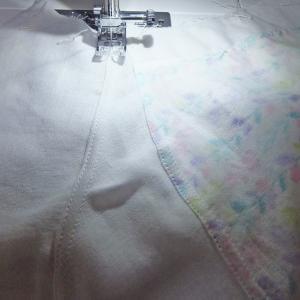 本縫い中、明日完成予定。