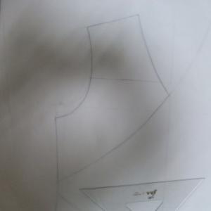 型紙を パーツごとに作る