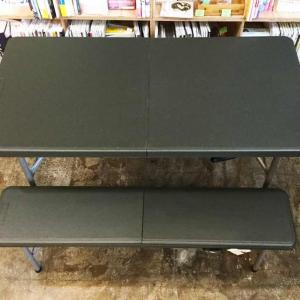 Folding Table & Bench