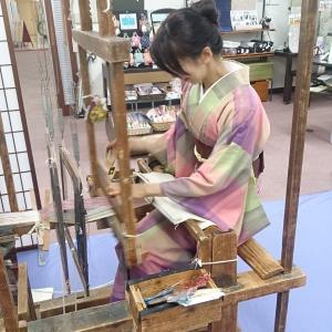 上田紬・機織り体験会☆