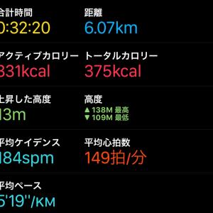 神戸マラソン後のジョグ再開