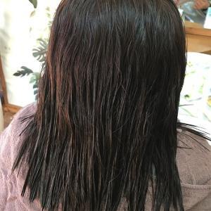 最近の縮毛矯正ツヤツヤ。