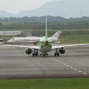 静岡空港・・・FDA143便離陸とトーカー
