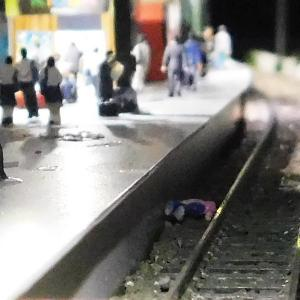 転落した乗客の救出
