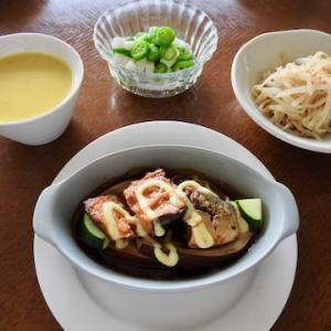 今日の晩ご飯は、鯖の味噌煮缶でオーブン焼き ♡