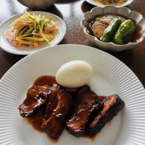 今日の晩ご飯は、『米久』角煮 ♡