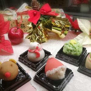 クリスマスも和菓子で