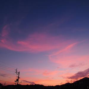今日の空 9/18 晴れ時々曇り