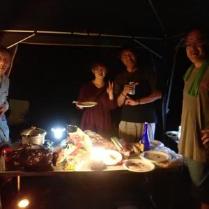夏の大キャンプ大会でした