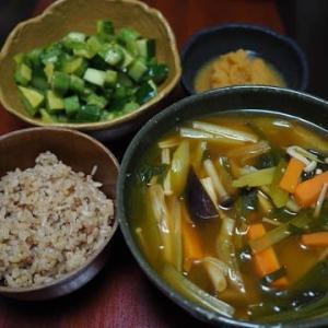 具は何でもありで!・トムヤムクン味スープ