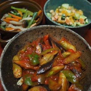 まだまだ健在・夏の野菜のパスタ