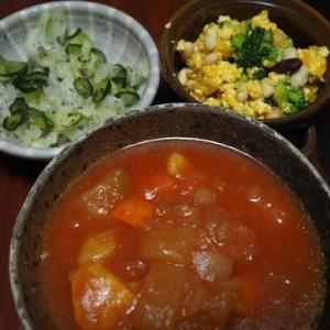 とうがんの日々・とうがん入りトマトカレースープ