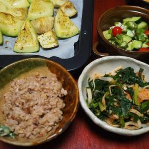 ねばねばサラダの季節・長芋とオクラのサラダ