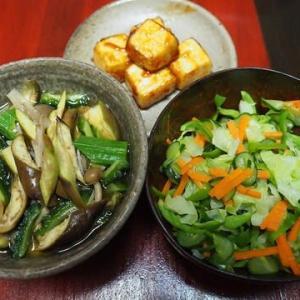 照り焼き風・豆腐ステーキ