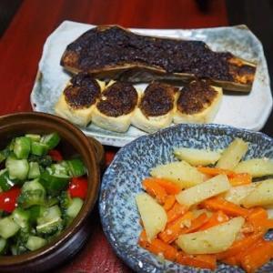 今日のなすはとろっとタイプ・なすと豆腐のごまみそオーブン焼き