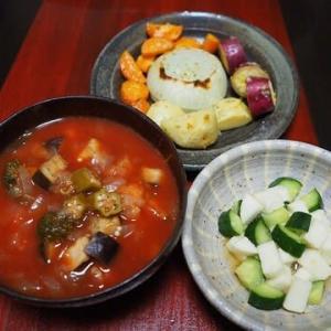 盛り付けの才能が欲しい・いろいろ野菜のオーブン焼き