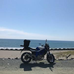 遠州灘をゆく