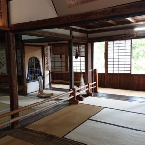 吉水神社   日本最古の書院をみて葛餅を食べる幸せな休日